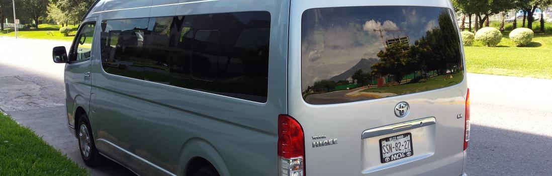 ¿Alquiler de vans en Monterrey?